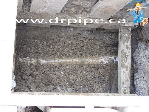 back-sloped-drain-pipe