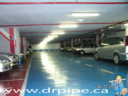fire-sprinklers-in-the-parking-garages