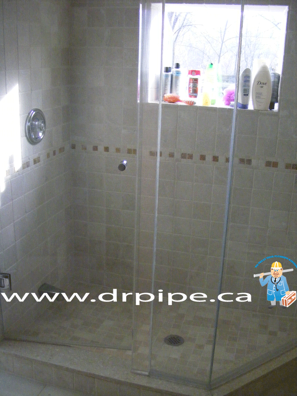 Installing shower after renovation