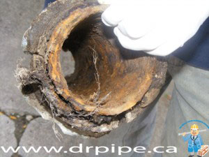 Inside Corrosion of Cast Iron Pipe